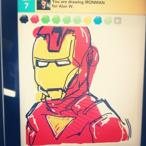 Ironman-drawsomething