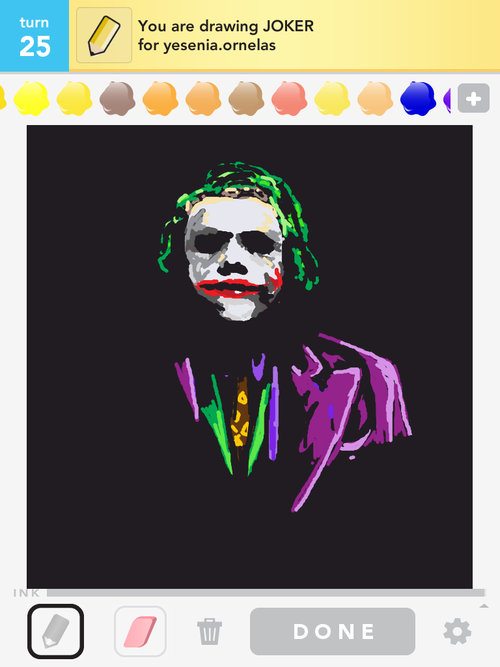 how to draw the joker symbol