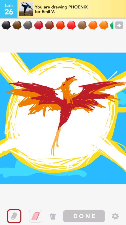 Phoenix Drawings How To Draw Phoenix In Draw Something