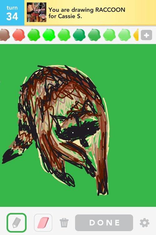 Drawsome_-_raccoon