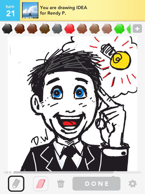 idea drawings how to draw idea in draw something the