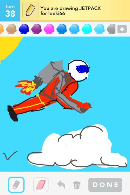 Jetpack Drawings - How to Draw Jetpack in Draw Something