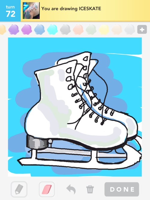how to draw a figure skater
