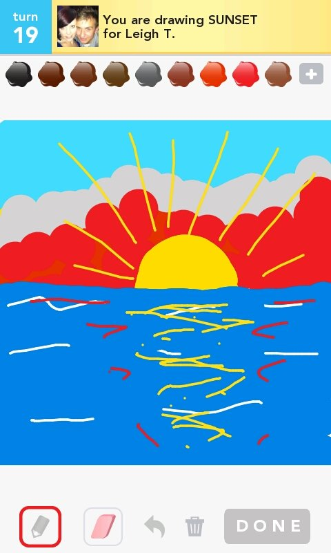 Best Sunset Drawings Sign in to Rate Sunset