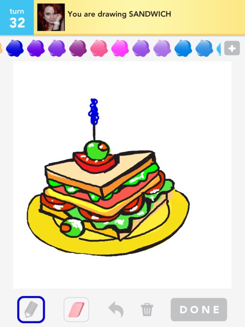 Sandwich Drawing Related Keywords & Suggestions - Sub Sandwich Drawing ...