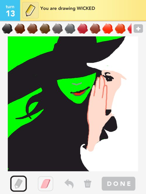 Wicked Drawings How To Draw Wicked In Draw Something