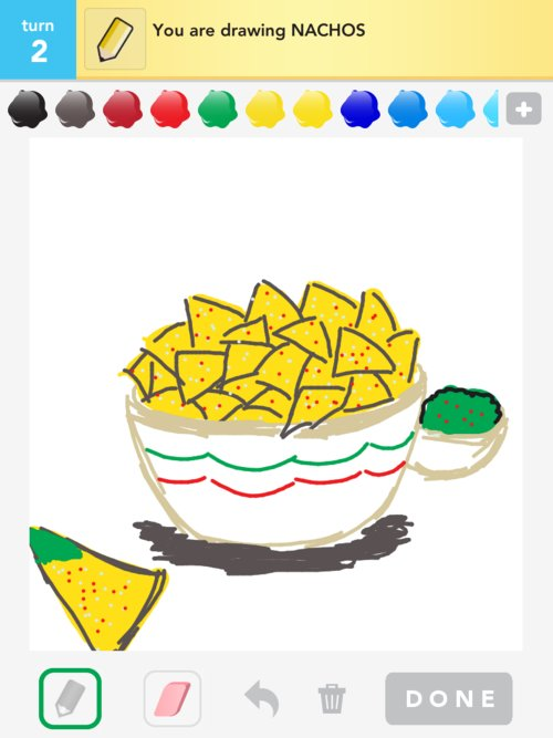 Go Back > Gallery For > Nachos Drawing
