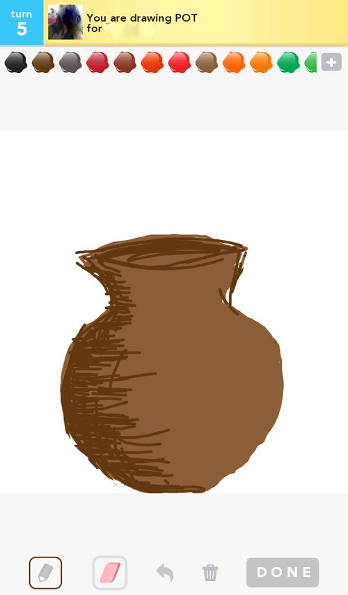 how to draw a pot or
