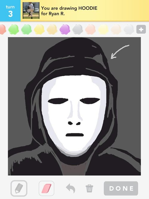 how to draw a guy in a hoodie