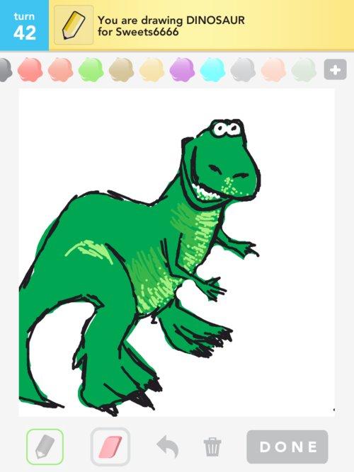 Qikdraw-dinosaur