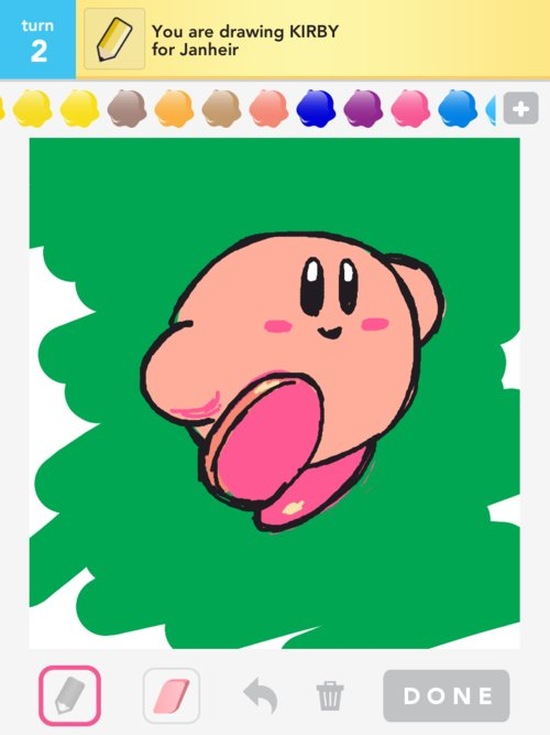 Qikdraw-kirby