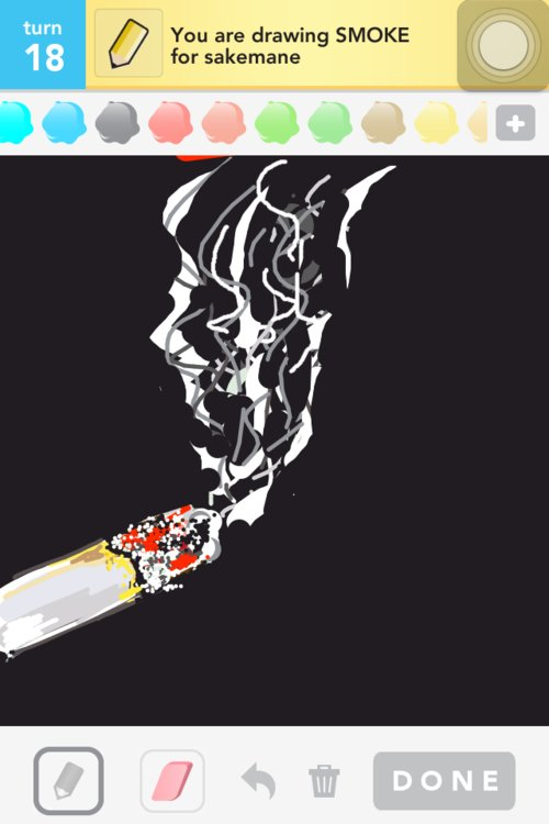 Smoke Drawings How To Draw Smoke In Draw Something The