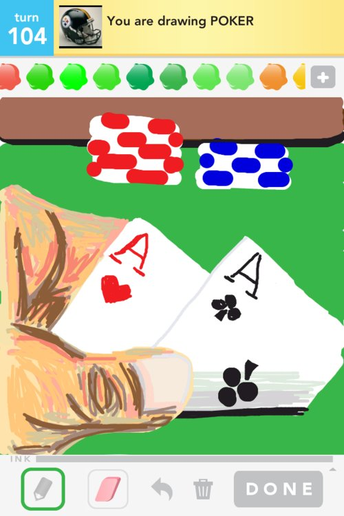 draw in poker