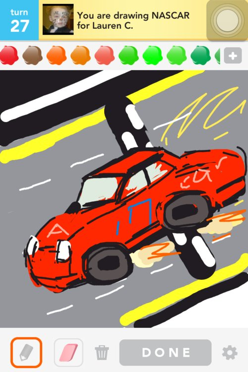 how to draw a nascar 88