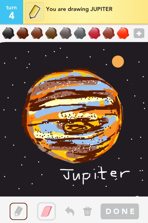 jupiter planet line drawings - photo #47