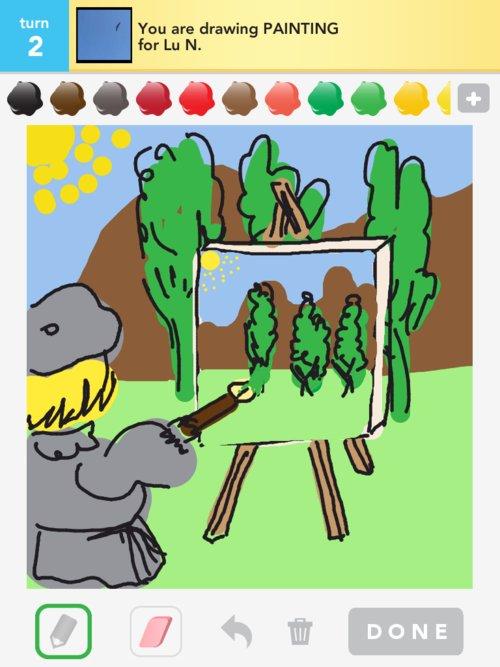 Drawpainting