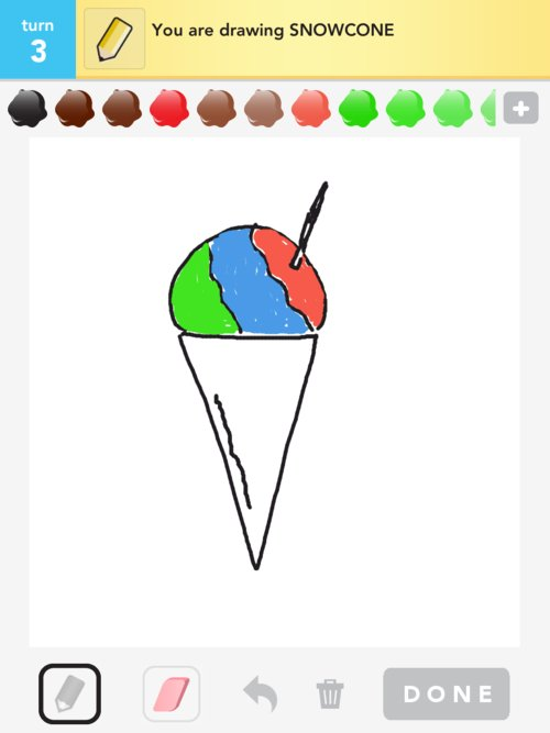 Snow Cone Drawing More snowcone drawings