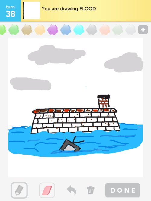 Flood Drawings - How to Draw Flood in Draw Something - The ...