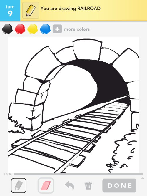 Railroad Drawing Related Keywords & Suggestions - Railroad ...