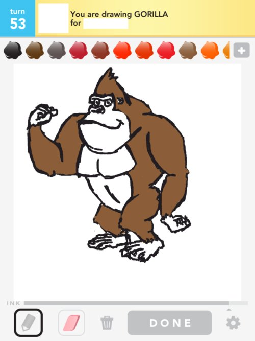 how to draw ivan the gorilla
