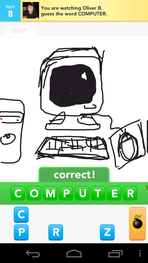 how to play draw something on computer