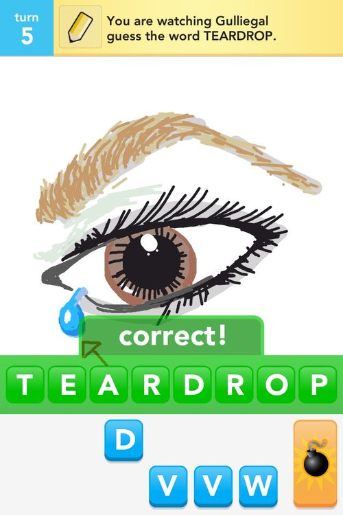 how to draw a teardrop