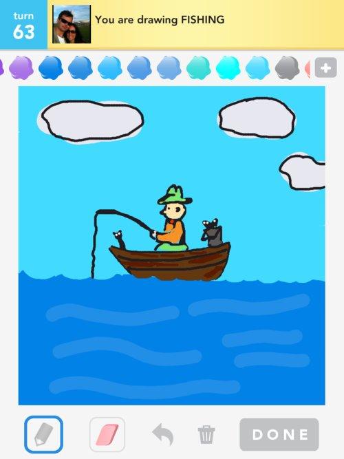 Fishing drawings how to draw fishing in draw something for Wyoming game and fish draw results