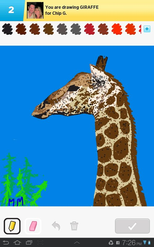 giraffe drawings how to draw giraffe in draw something