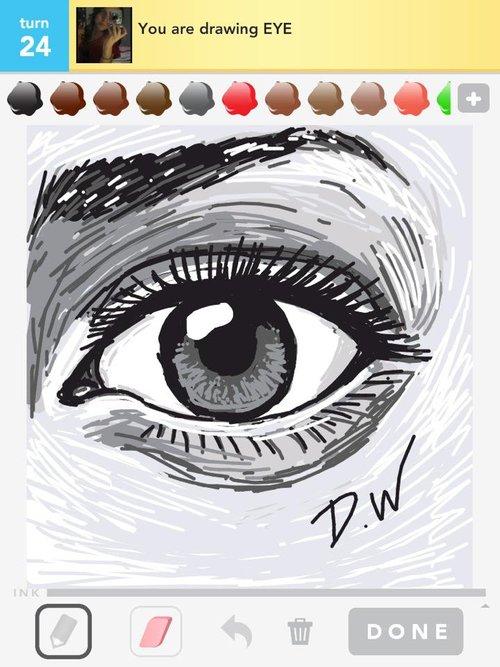 2020 Other Images Eyeball Draw Something
