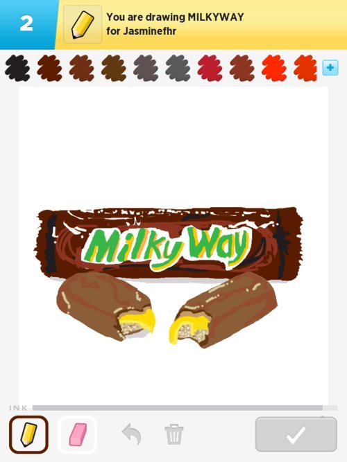 Milkyway Drawing