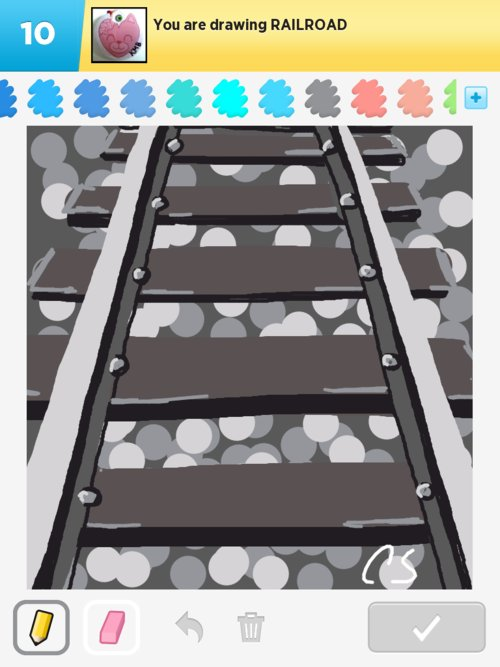 Railroad Drawings - How to Draw Railroad in Draw Something ...