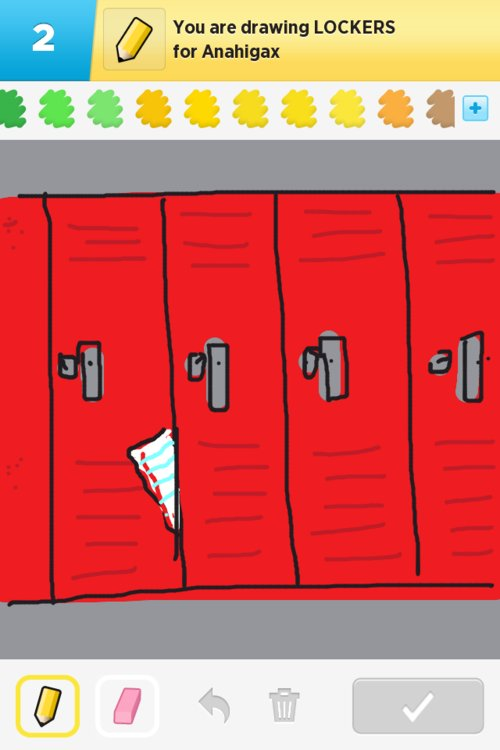 Lockers Drawings How To Draw Lockers In Draw Something