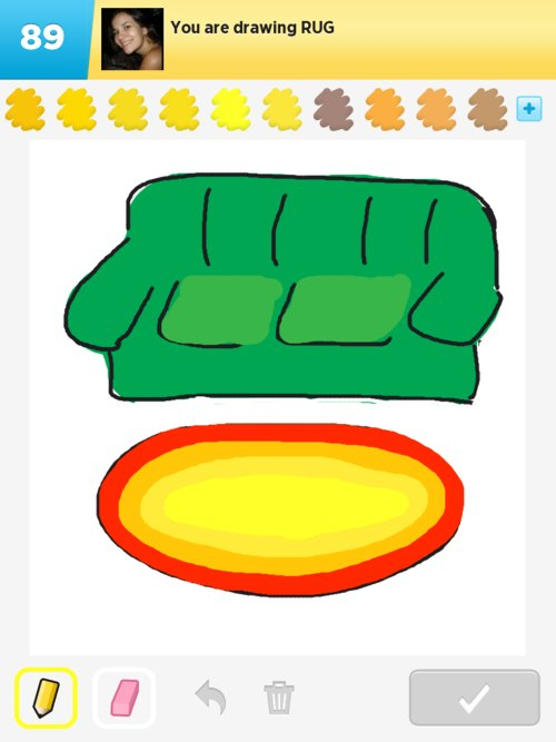 how to draw a rug Home Decor