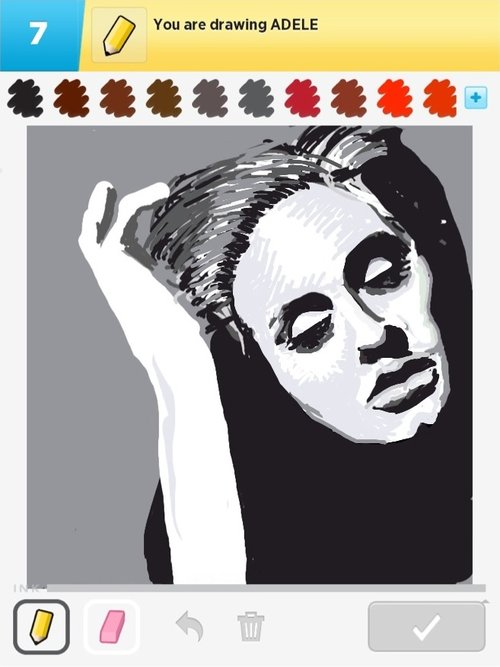 Adele Drawings The Best Draw Something Drawings And Draw Something