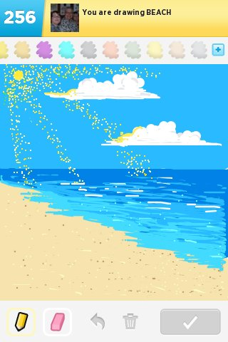 Beach Drawings - The Best Draw Something Drawings and Draw ...