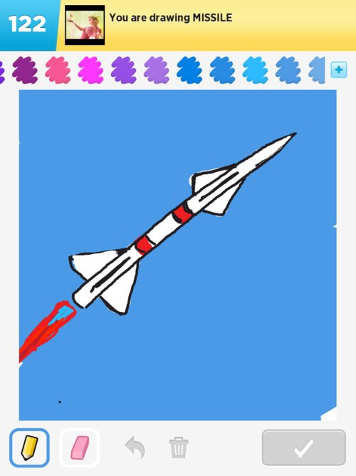 Image Gallery missile drawing