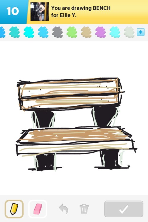 Bench Drawings How To Draw Bench In Draw Something The
