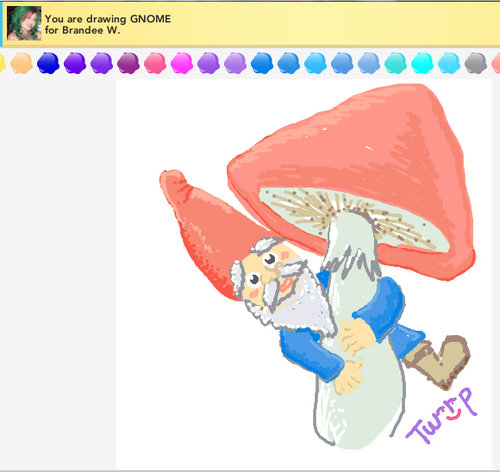 Gnome-mushroom
