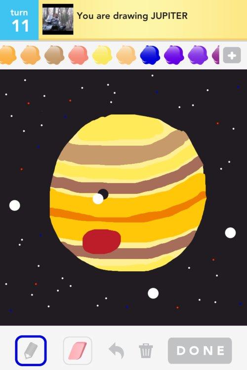 jupiter planet drawing words - photo #46