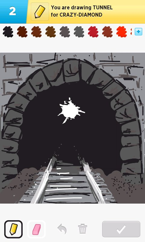 Tunnel Drawings How To Draw Tunnel In Draw Something