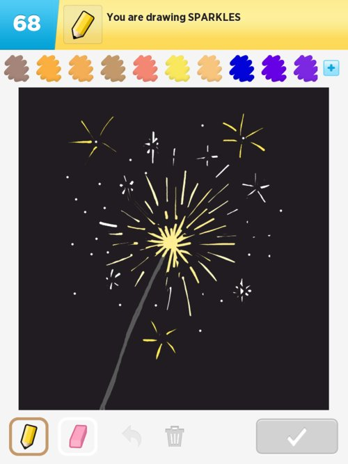Sparkle Drawings - How to Draw Sparkle in Draw Something - The ...