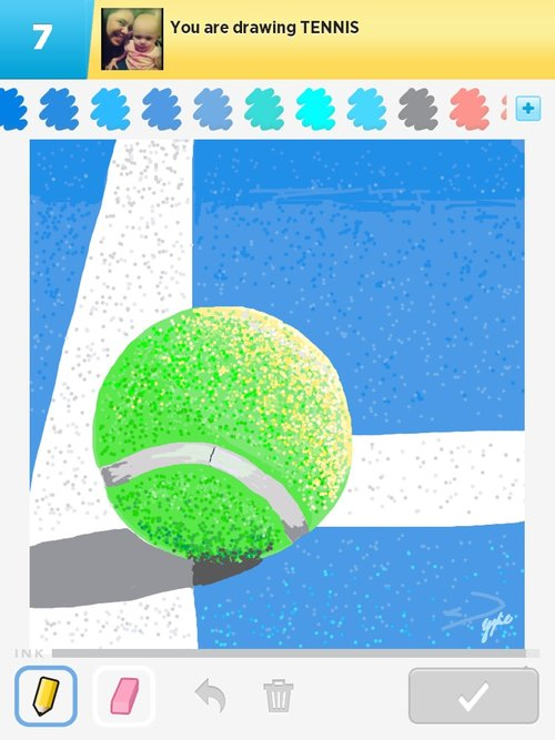 Tennis Drawings - How to Draw Tennis in Draw Something - The Best ...