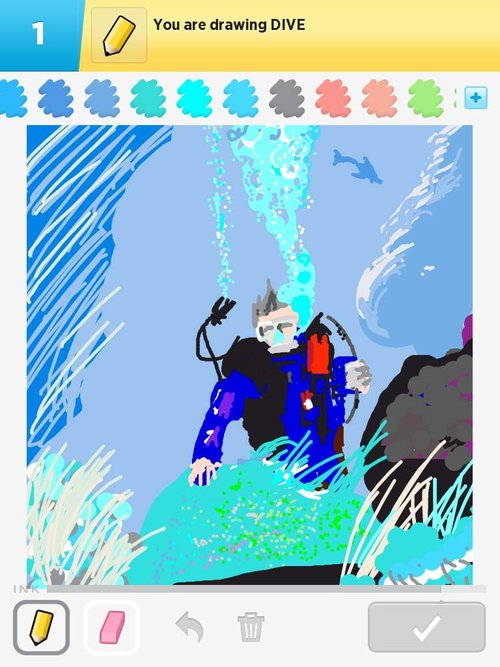 Dive Drawings How To Draw Dive In Draw Something The Best Draw