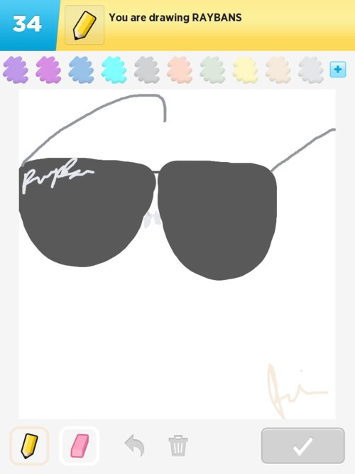 Rayban Drawings How To Draw Rayban In Draw Something