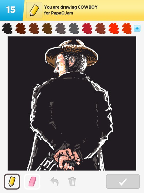 Qikdraw-cowboy