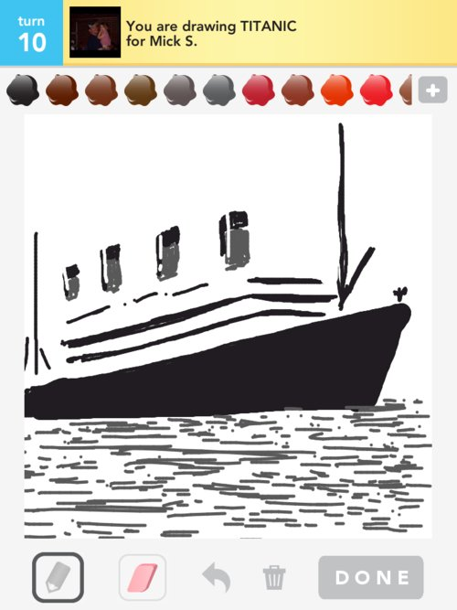 Qikdraw-titanic