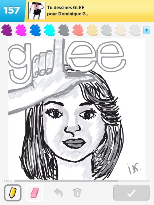 Glee Drawings How To Draw Glee In Draw Something The