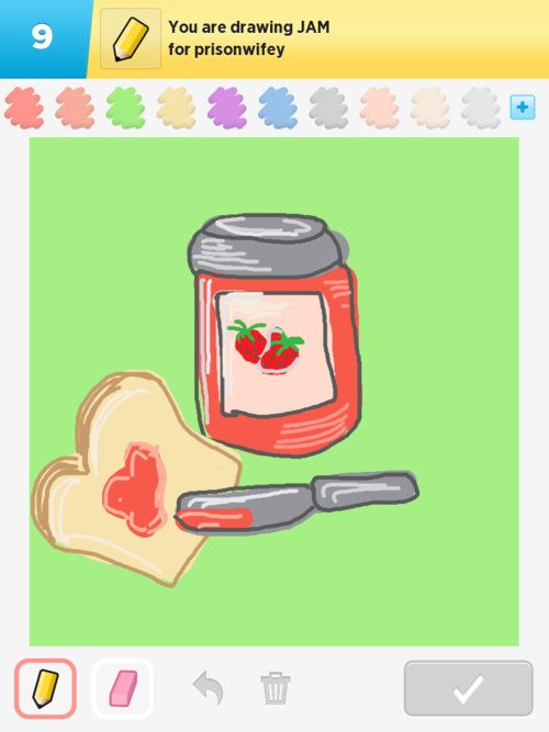 how to draw on draw something