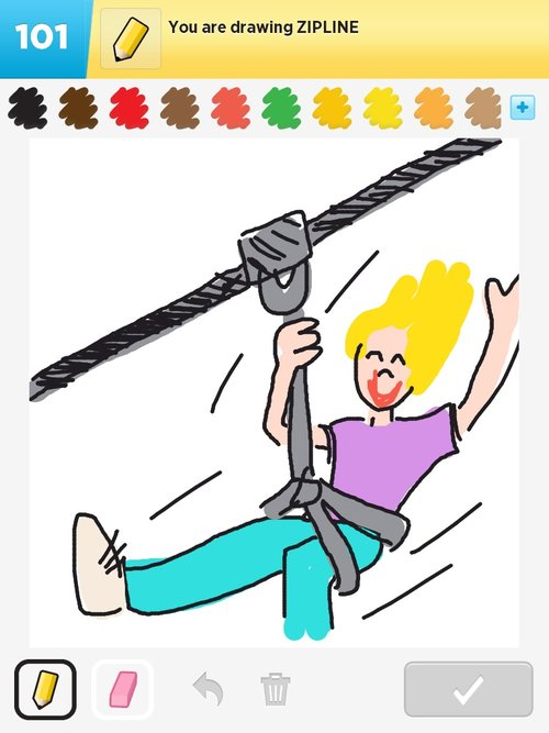 D Line Drawings Zip : Zipline drawings how to draw in something