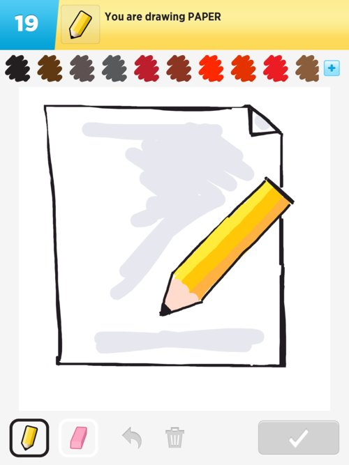 paper drawings how to draw paper in draw something the